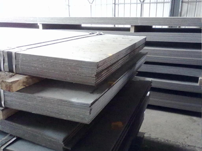 Effect of chemical elements on A537 class 2 steel plate