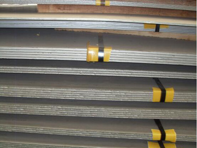 High temperature resistance of A537 class 2 boiler steel plate